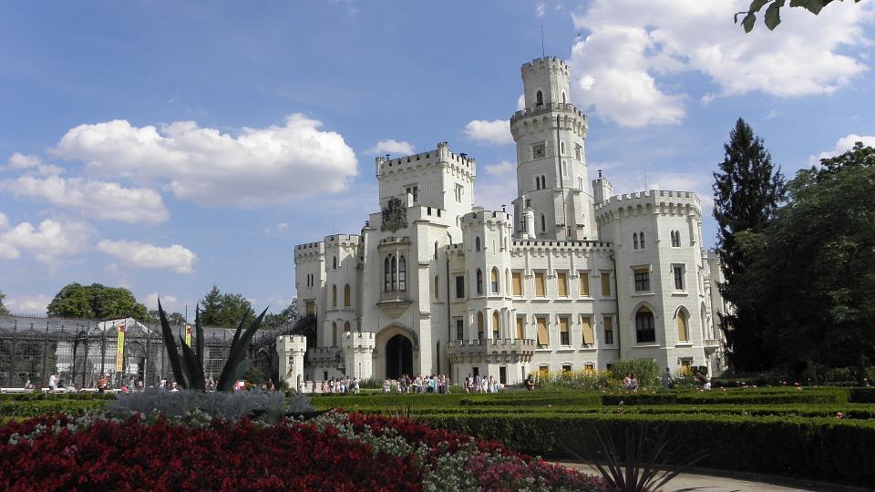castello Hluboka nad Vltavou