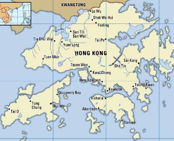 Hong Kong je glavni grad zemlje