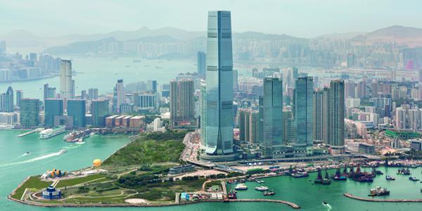 Hongkong, który stanowi stolicę