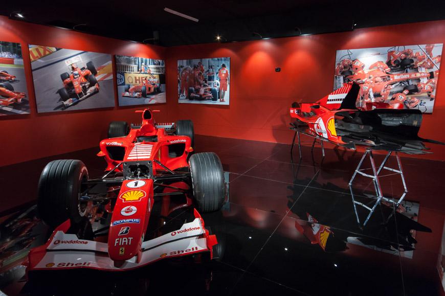 Автомобилен музей.  Машина Schumacher