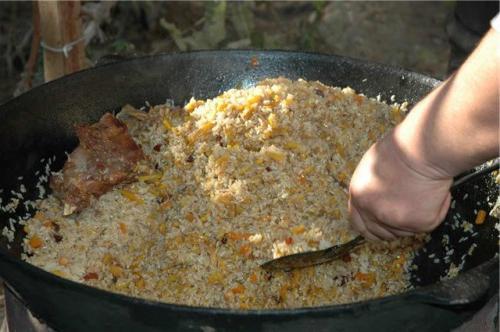 come cucinare il pilaf di agnello