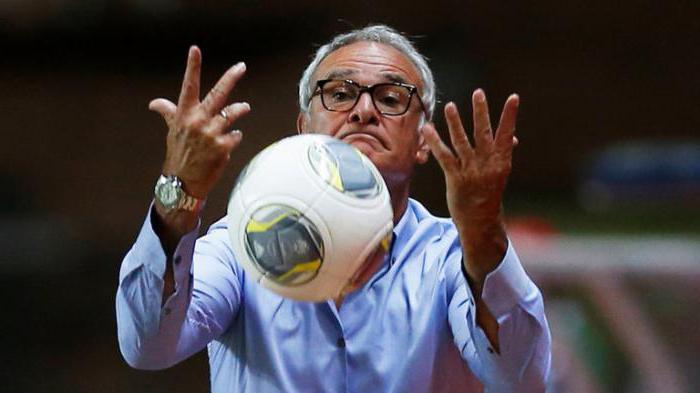 trener Claudio Ranieri