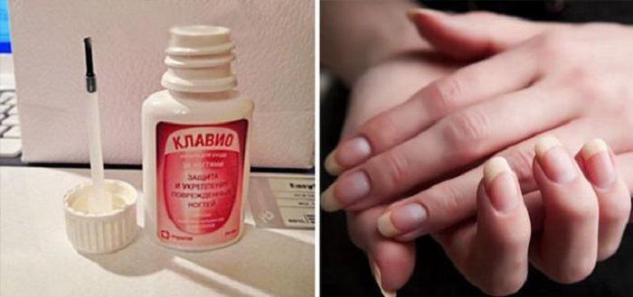 lozione clavio per la distrofia delle unghie