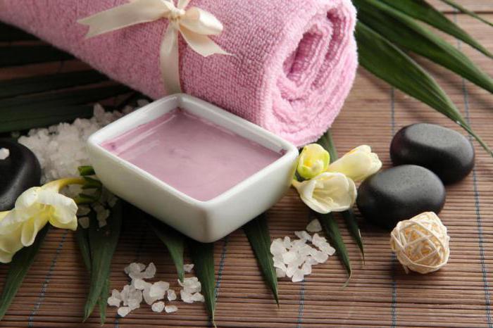 Розова глина за маски за коса
