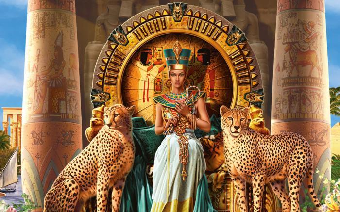 Kleopatra královna Egypta