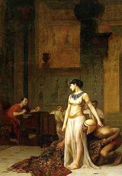 Cleopatra Egyptská královna biografie