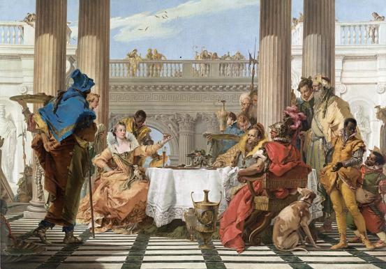 Kleopatra slova královny Egypta