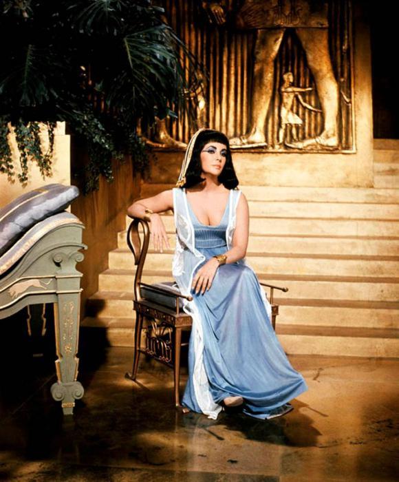 Cleopatra královna Egypta fotografie
