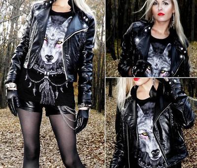 Stile rock nei vestiti