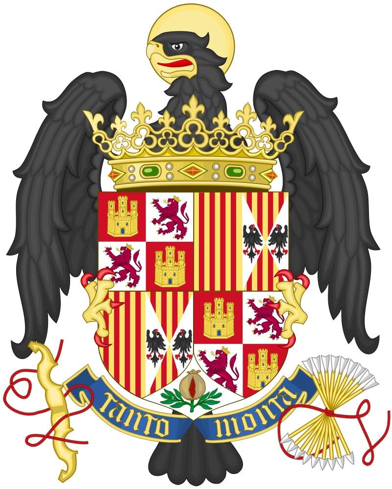 La prima stemma della Spagna
