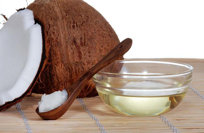 olio di cocco raffinato