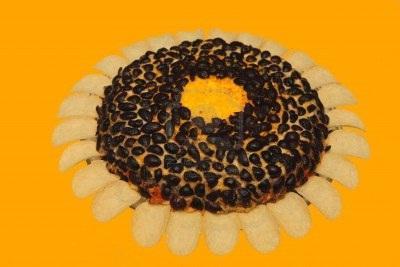 solata iz sončnice iz jeter trske