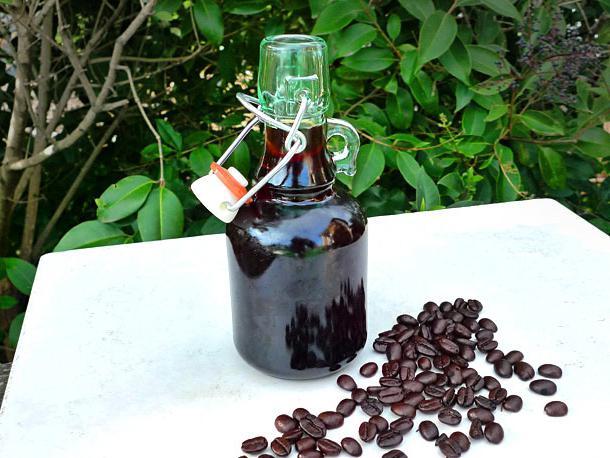 cocktail di liquore al caffè