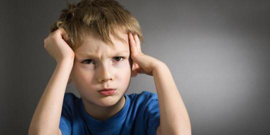 kognitivní poruchy u dětí