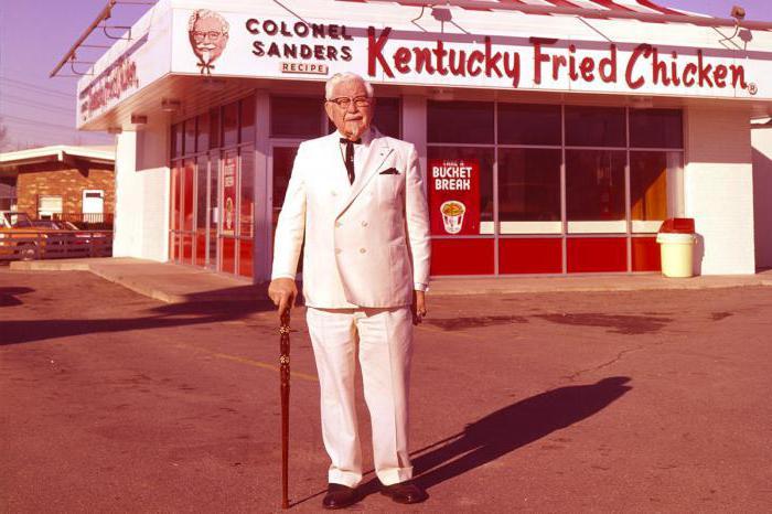 Biografia del colonnello Sanders