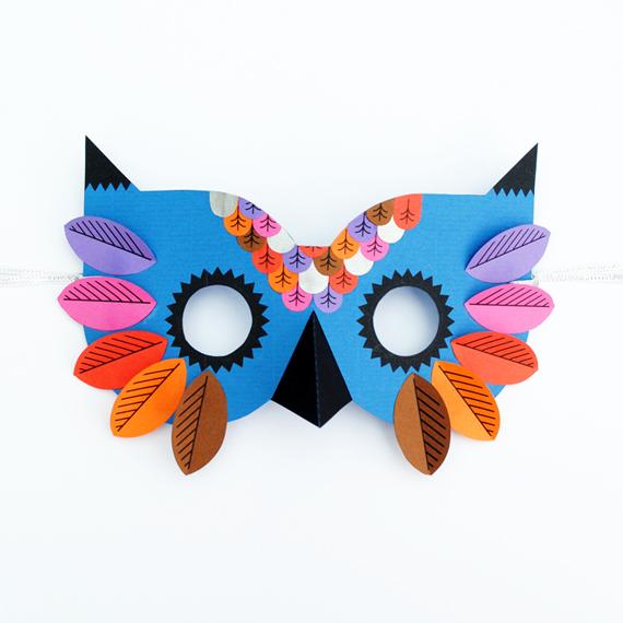 папирна маска