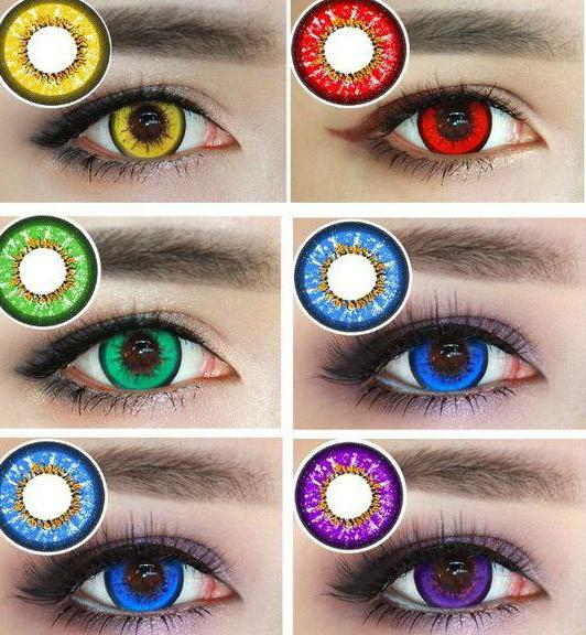 lenti a contatto colorate senza diottrie