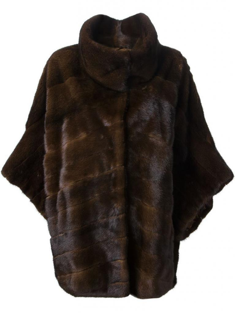 Mink kožešinový kabát