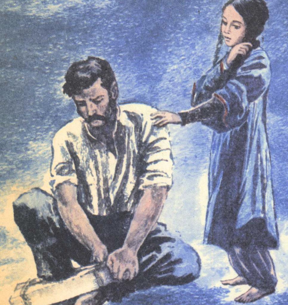 Жилин и Дина из кавкаског заробљеника