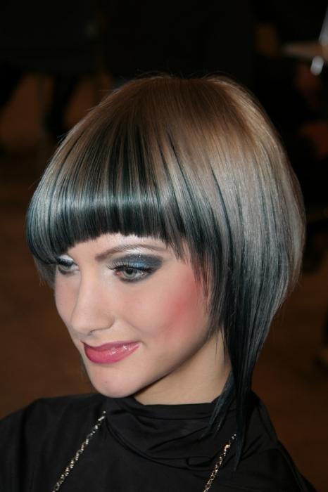 tagli di capelli con frangetta