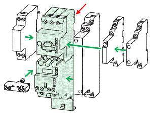 contattori modulari