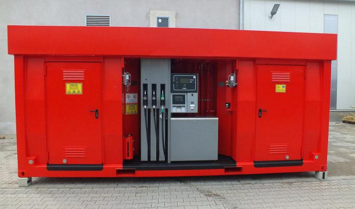 монтаж на контейнерни бензиностанции