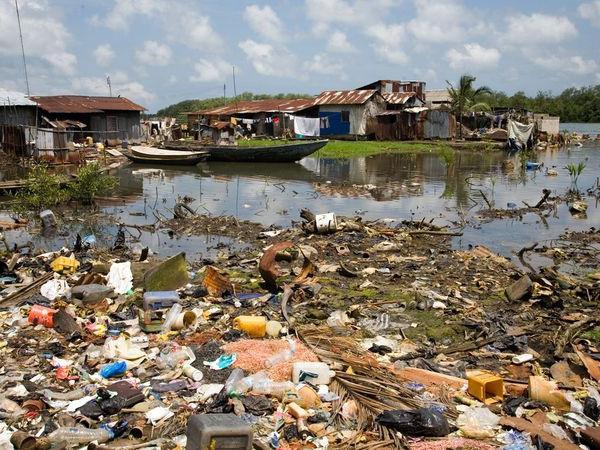 източници на замърсяване на хидросферата