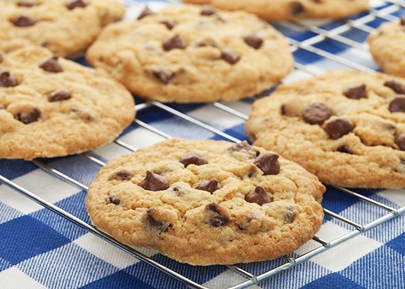 Biscotti di farina d'avena senza uova