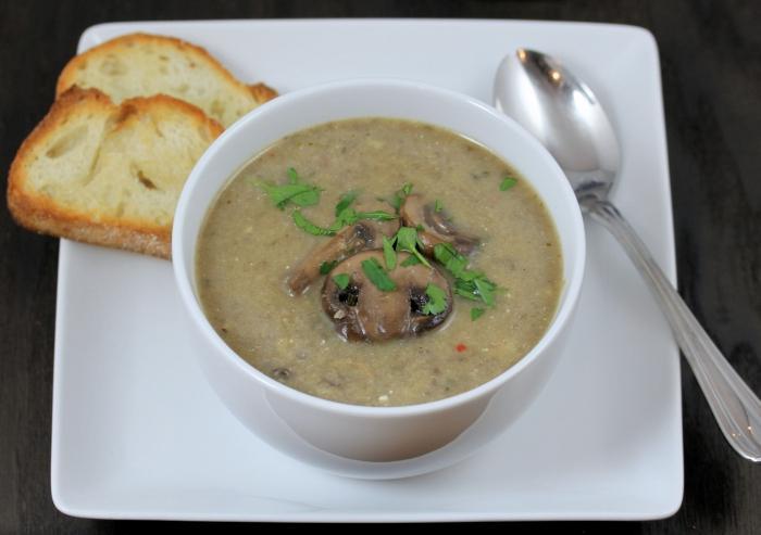 krem juha od sušenih gljiva