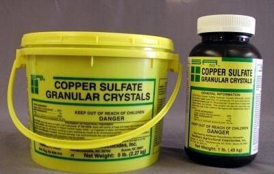 примена бакар сулфата