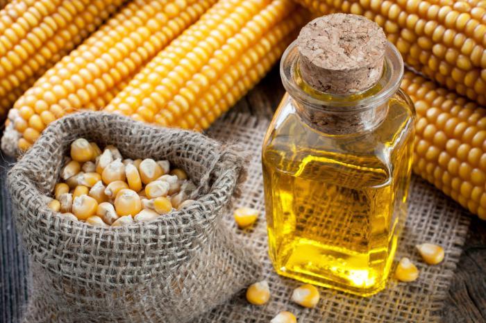 прегледи за царевично масло