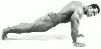 što mišići zamahuju kada se guraju gore