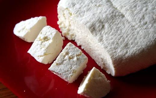 formaggio a pasta dura di ricotta