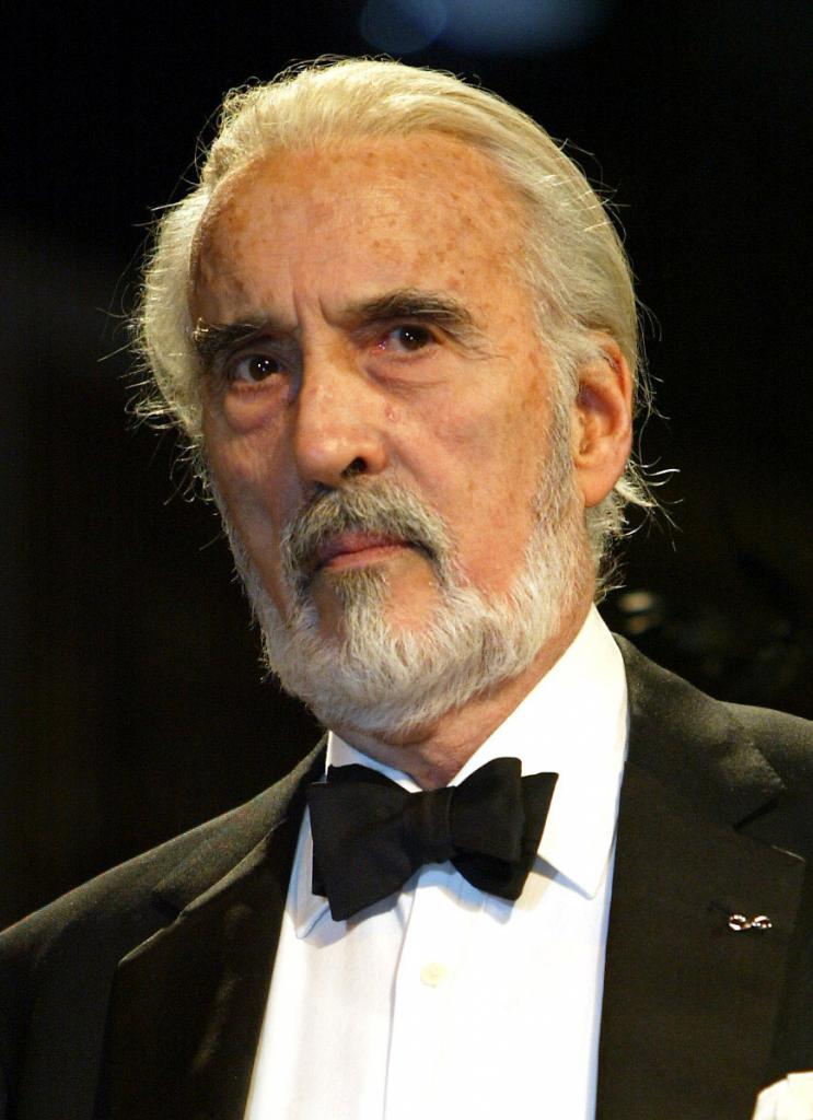 attore christopher lee