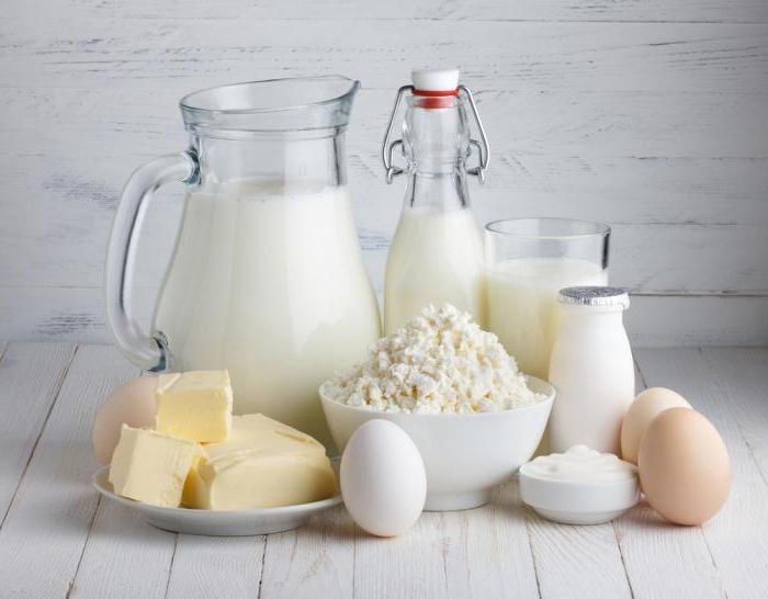composizione di latte di capra e mucca