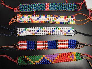 artigianato da perline e filo