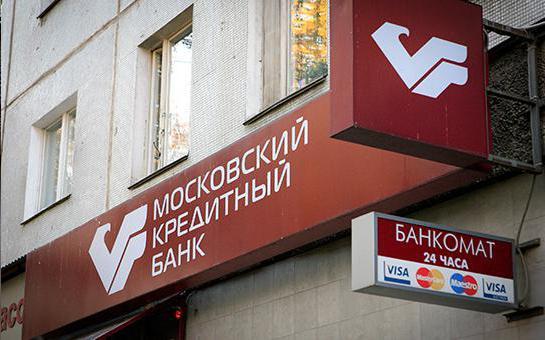 Recenzja Moscow Credit Bank