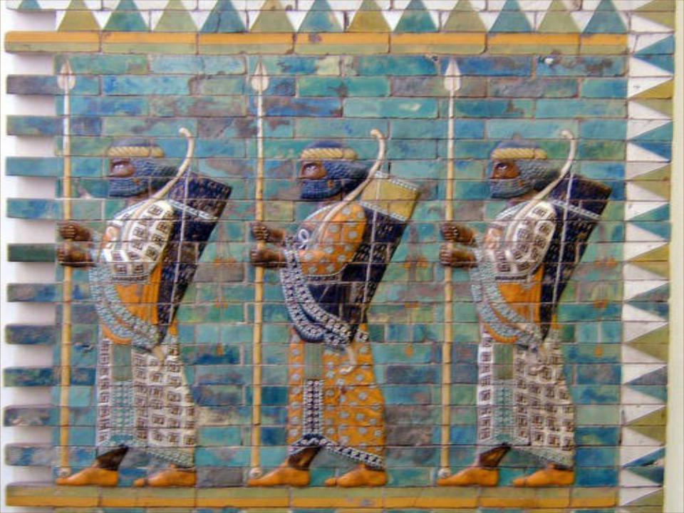 L'immagine dei soldati di Babilonia