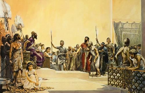 Corte nell'antica Babilonia