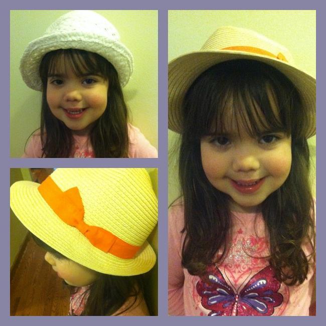 Ljetne kape za djevojčice