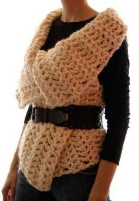 Gilet in maglia da donna