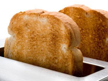 crostini di pane bianco