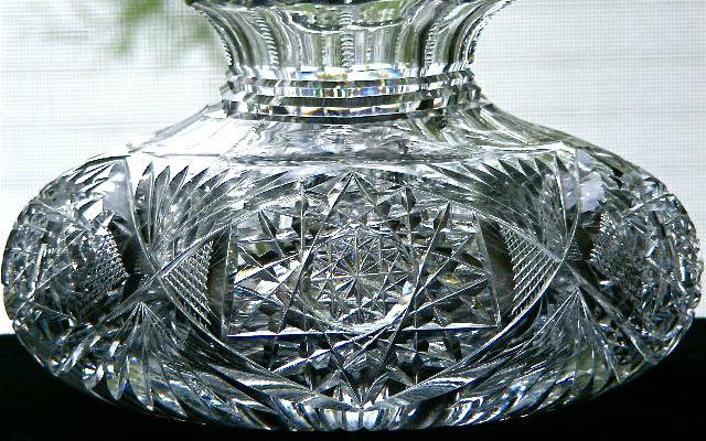 vaso di cristallo