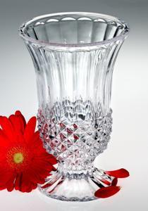 foto di vaso di cristallo