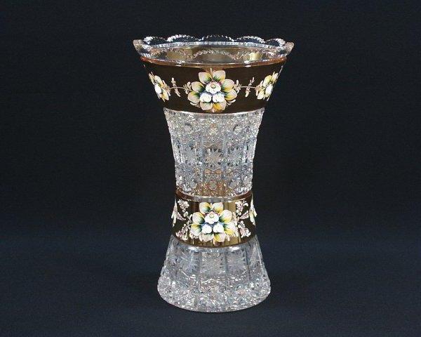come pulire un vaso di cristallo dalla placca