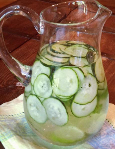 сок от краставици за отслабване