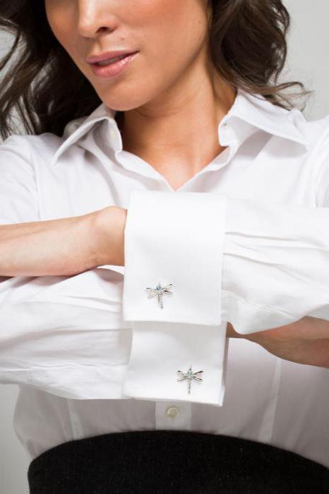 camicia bianca per gemelli donna