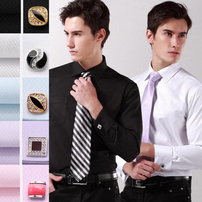 camicie da uomo per gemelli