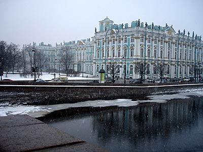 Palazzo d'inverno a petersburg