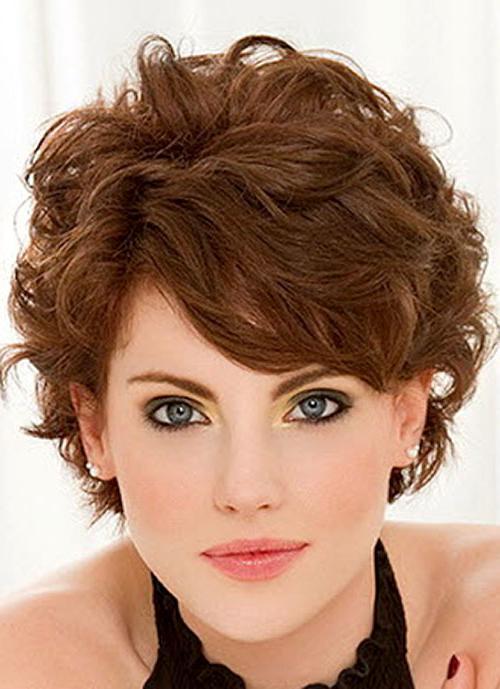 кратке фризуре за коврчаву косу